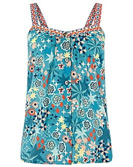 Monsoon Diego Mixed Print Cami