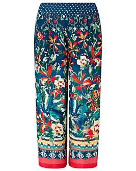 Monsoon Martina Printed Crop Trouser