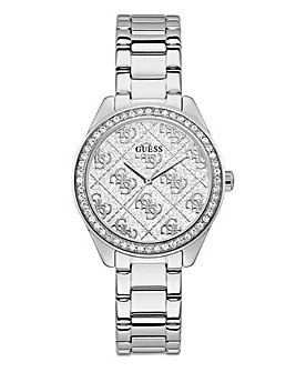 Guess Silver Bracelet Strap Watch