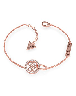 Guess Equilibre Rose Gold Bracelet