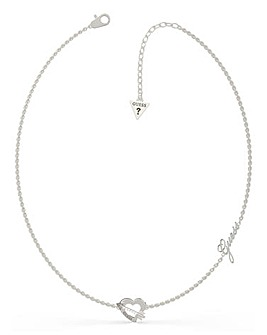 Guess Across My Heart Necklace