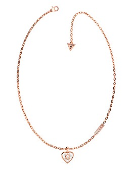Guess Rose Gold Shine Necklace