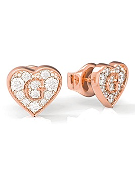 Guess Rose Gold Shine Earrings