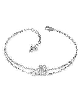 Guess Miniature Silver Bracelet