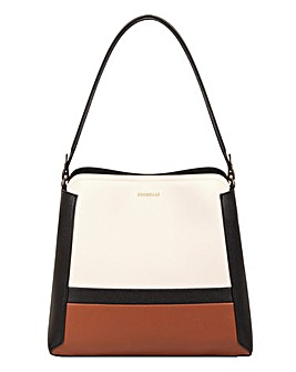 Fiorelli Halle Nero Stripe Hobo Bag