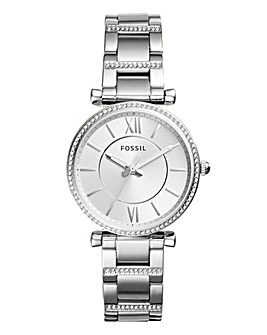 Fossil Carlie Stainless Steel Watch