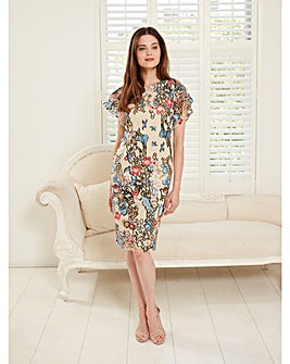 Gina Bacconi Annamaria Embroidery Dress