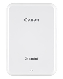 Canon Zoemini Slim Body Pocket Sized Photo Printer White inc 30 Prints