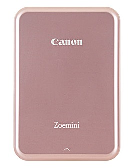 Canon Zoemini Slim Body Pocket Sized Photo Printer Rose Gold inc 60 Prints