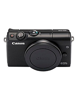Canon EOS M100 CSC Camera Body Only