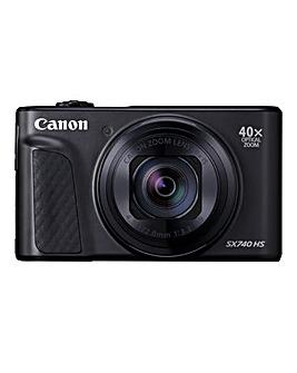 Canon PowerShot SX740 HS Camera Black