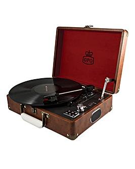 GPO Attache Briefcase Turntable
