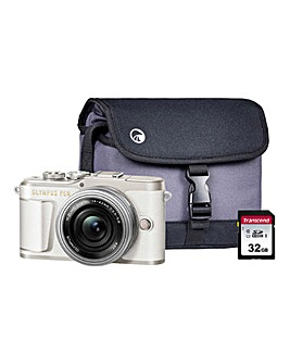Olympus PEN E-PL9 White CSC Camera Kit