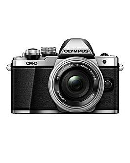 Olympus E-M10 MK II Silver 14-42mm Lens