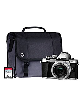 Olympus E-M10 MK II Silver Camera Kit