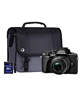 Olympus E-M10 MK III Black Camera Kit