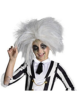 Girls Miss Beetlejuice Wig