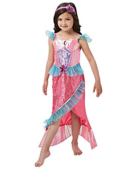 Girls Deluxe Mermaid Costume