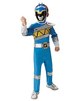 Blue Dino Charge Power Ranger Costume