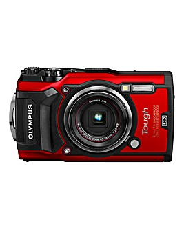 Olympus TG-5 Tough Camera Red 12MP