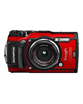 Olympus TG-5 Tough Camera Red 12MP