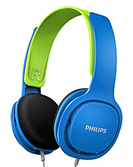 Philips Kids Blue Headband Headphones