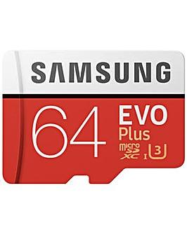 Samsung EVO Plus SDXC Memory Card - 64GB