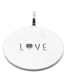 Mya Bay Love Cutout Circular Charm