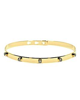 Mya Bay Clear Sparkle 5 Stone Bracelet