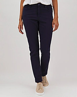 Navy Soft Touch Slim Leg Jeans