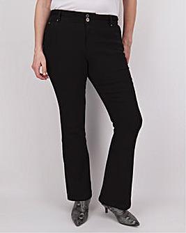 Black Shape & Sculpt Bootcut Jeans