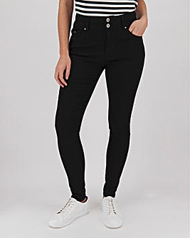 Black Shape & Sculpt Skinny Jeans