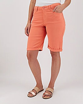 Coral Soft Touch Knee Length Shorts