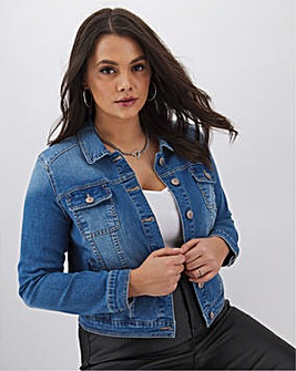 Blue Western Denim Jacket