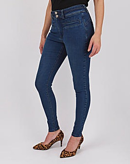 Shape & Sculpt Apple Fit Skinny Jeans