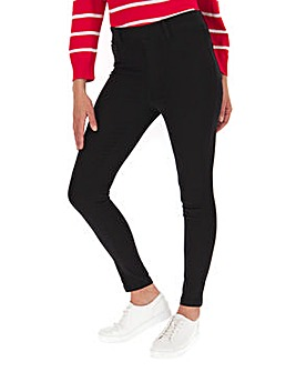 Amber Black Skinny Jeggings