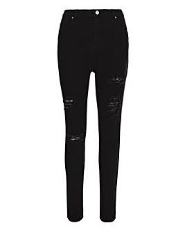 Chloe Black Ripped Skinny Jeans