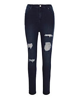 Chloe Indigo Ripped Skinny Jeans