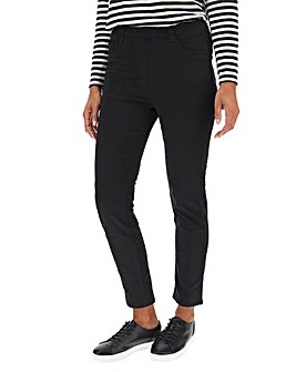 Bella Black Slim Leg Jeggings