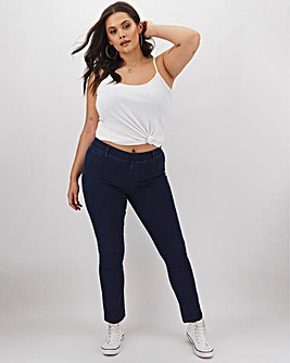Bella Dark Indigo Slim Leg Jeggings