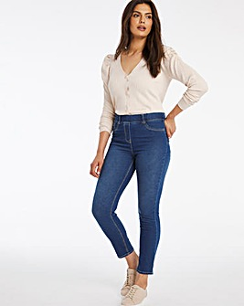 Bella Mid Blue Slim Leg Jeggings