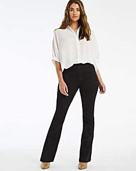 Erin Black Bootcut Jeggings