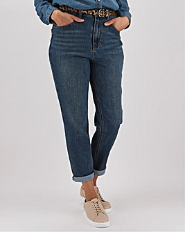 Demi Vintage Blue High Waist Mom Jeans