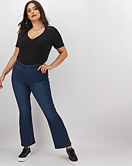 Erin Dark Indigo Bootcut Jeggings