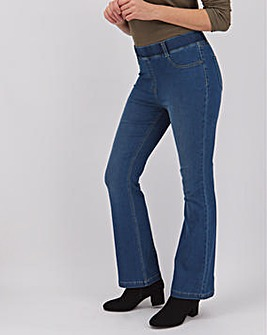Erin Mid Blue Bootcut Jeggings