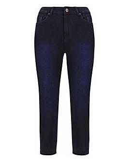 Lucy Indigo High Waist Super Soft Stretch Crop Jeans