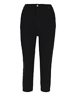 Black Lucy High Waist Crop Jeans