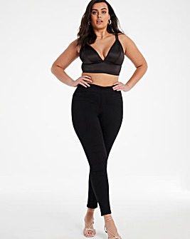 Sculpt & Define Black Skinny Jeggings