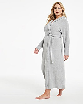 Boux Avenue Lillie Ribbed Lounge Robe
