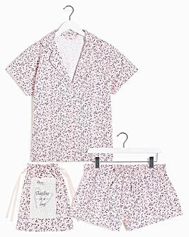 Boux Avenue Ditsy Floral Shortie PJs